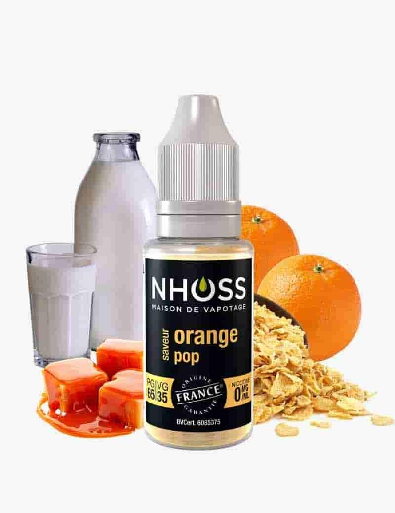 E-liquide Orange