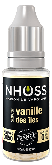 flacon e-liquide nhoss