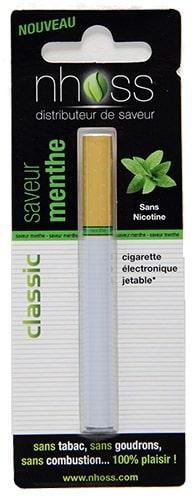 cigarette électronique jetable menthe