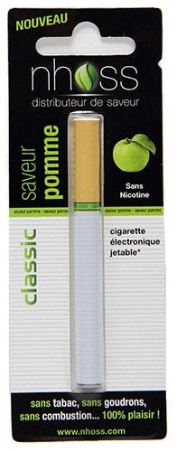 cigarette électronique jetable pomme