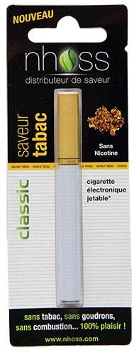 cigarette électronique jetable tabac