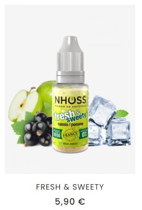 e-liquide pomme cassis
