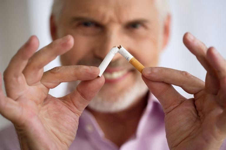 fumeur qui arrête de fumer