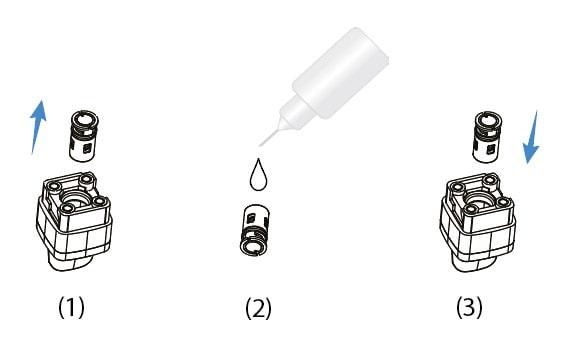 changement de résistance cubeo