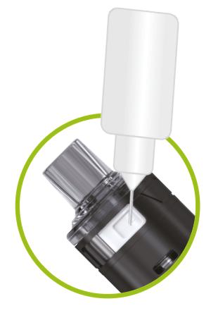 remplissage e-liquide tubeo