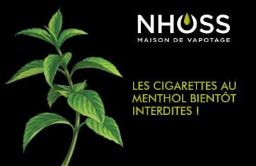 Les cigarettes au menthol bientôt interdite