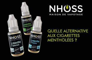 Quelle alternative aux cigarettes mentholées ?