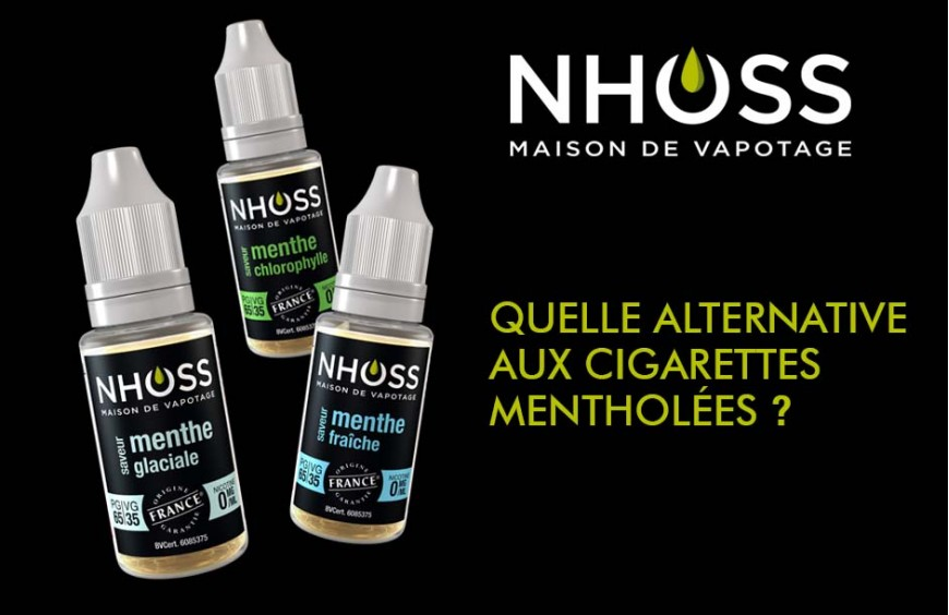 Quelle alternative aux cigarettes mentholées ?