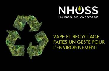 Vape et recyclage, faites un geste pour l'environnement