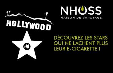 Les stars et la cigarette électronique