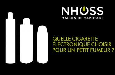 Quelle cigarette électronique pour un petit fumeur ?